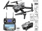 Mobile Preview: Faltbarer GPS-Quadrocopter Drohne mit Brushless-Motor, 4K-Cam, WLAN und App