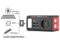 Preview: Mini-Powerbank & Solar-Konverter mit Falt-Solarpanel, 24 Ah, 120 Watt