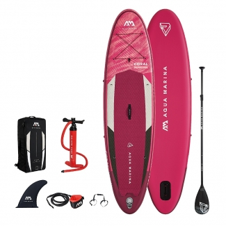 Stand Up Paddle Aqua Marina Advanced All-Around iSUP Coral (Coral)