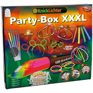 Knicklichter XXXL Party Box Mega Set