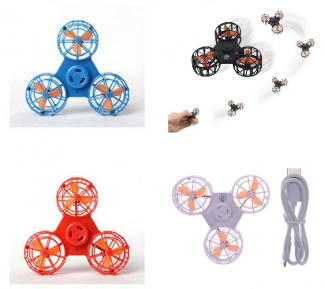 Fliegender Flying Fidget Spinner in 4 Farben