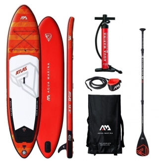 Stand Up Paddle SUP Aqua Marina Atlas ISUP Set