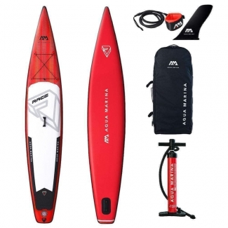 Stand Up Paddle SUP Aqua Marina RACE ISUP Set