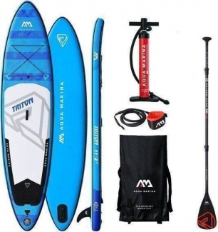Stand Up Paddle SUP Aqua Marina Triton ISUP Set