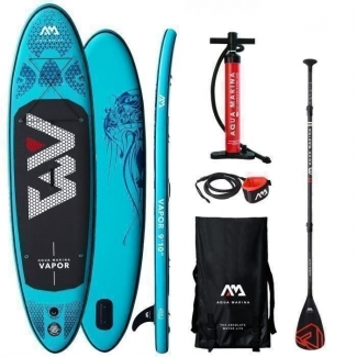 Stand Up Paddle SUP Aqua Marina Vapor ISUP Set
