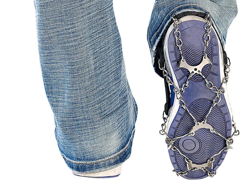 1 Paar Schuhketten für alle Schuhe, Schuhgröße 35 43